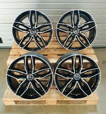 18 Zoll Damina DM05 Alu Felgen 5x112 et35 schwarz für Audi S-Line A4 A5 S4 S5 A6