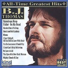 All Time Greatest Hits [King] by B.J. Thomas (CD, Aug-2002, King)
