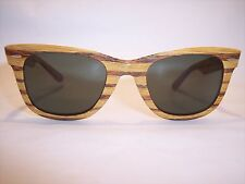 "Ray Ban USA Wayfarer Absolute Rare Legendary ""WOODY MAPLEWOOD"" 100%Vintage"