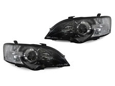 Depo Jdm Black/Clear Projector Headlights For 2005-2007 Subaru Legacy / Outback (Fits: Subaru)