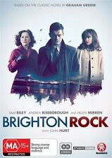 BRIGHTON ROCK =(DVD, 2011, 2-Disc Set)--HELEN MIRREN= PAL 4 =SEALED = FREE POST