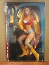 vintage Nicole wood 1993  poster Hot Girl Playboy 2261