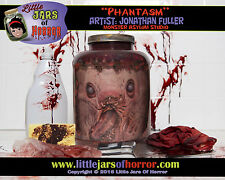 """Phantasm"" Head in Jar - Halloween/Horror Prop/Decor-  Fresh Red Version"