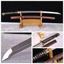 Japanese 98 Type Military Samurai Sword Katana Folding Pattern Steel Sharp #1475