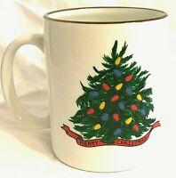 Wondermugs Color Changing Christmas Tree Coffee Cup Mug