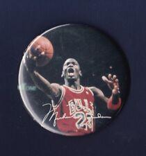 Michael Jordan Chicago Bulls vintage basketball pinback button