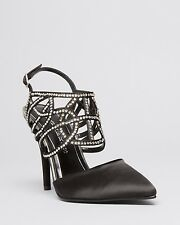 NEW Caparros Paloma Women's Evening Black High Heel Shoes Size 8.5