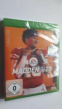 XBOX ONE Game - Madden NFL 20 - American Football - EA Sports - NEU/OVP