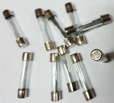 AGC 25 AMP GLASS TYPE FUSES 10Pcs