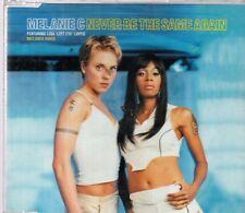 MELANIE C & LISA LEFT EYE LOPES - NEVER BE THE SAME AGAIN (CD single)
