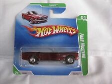 Hot Wheels 2009 Super Treasure T-Hunt $ Ford Mustang Mint In Short Card
