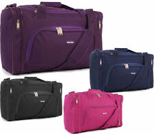 Soft Unisex Adult Synthetic Luggage with Extra Compartments