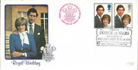 Royal Wedding Prince Charles Diana Spencer First Day Cover 22 July 1981 U871