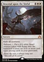 Descend upon the Sinful FOIL   NM   Shadows over Innistrad   Magic MTG