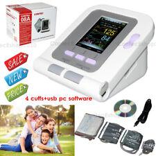 Monitor digitale della pressione sanguigna braccio superiore a 4 polsini,softwae