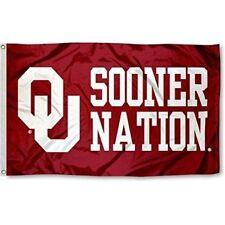 Oklahoma Sooners Flag Ncaa 3X5Ft Sooner Nation Ou Banner Us Shipper