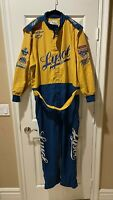 Race Used Tracy Leslie #63 Lysol Racing Pit Crew Fire Suit NASCAR 1998 50th Ann