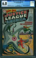 Brave and the Bold #28 CGC 6.0 1960 DC 1st Justice League!! K6 281 cm clean