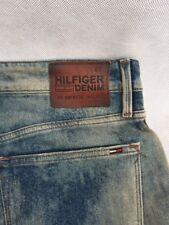 "Tommy Hilfiger Denim Men's Blue Jeans 33x32 Without Tags- Straight Leg 8"""