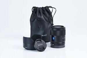 Zeiss FE 1,8 55mm für Sony, inkl. Zubehörpaket: Filter, Schutzbeutel, Gglbl.