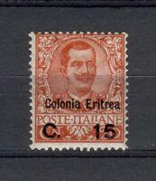 S34391 Eritrea 1905 Mxxlh Definitive 15c Su 20c 1v Saxon #30