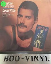 "Freddie Mercury - Love Kills 7"" Single Original UK Release 1984 EX+ Con"