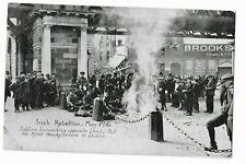 Irish Rebellion May 1916 postcard