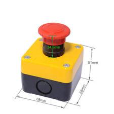 1pc New Schneider Emergency Stop Switch Box Xalb01ycxb5as542c