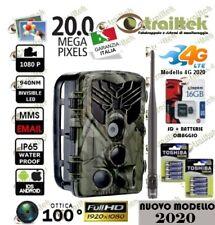 FOTOTRAPPOLA MIMETICA ANTENNA - 4G  LTE - VIDEOCAMERA SPIA MMS -EMAIL-FHD