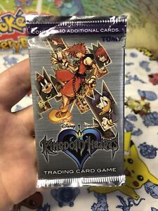 New Disney Kingdom Hearts Chain of Memories Trading Card Booster Pack TCG Sealed