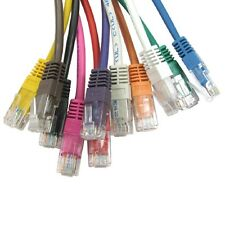 Network Ethernet Cable RJ45 Cat5e POE Patch Lead PURE FULL COPPER Wholesale