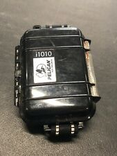 Pelican Case i1010 Black Waterproof Case for iPod - Used