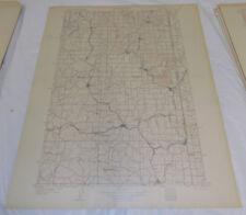 1905 Topographic Map OAKESDALE QUADRANGLE/SPOKANE/WHITMAN COUNTY/WA, ID