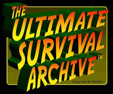 Be Primitive Survivorman Survivor Man w Knife VS the Wild Survival Books On DVD