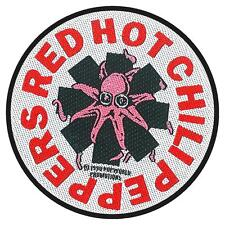 OFFICIAL LICENSED - RED HOT CHILI PEPPERS - OCTOPUS SEW ON PATCH RHCP ROCK