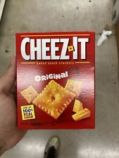 Cheez-It Baked Snack Cheese Crackers, Original, 4.5 oz Bo