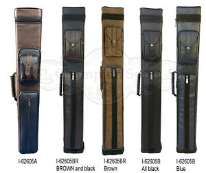 Champion Instroke Leather pool Cue Cases 4x6 Holds 4 butts and 6 shafts 4B6S