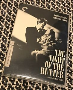 THE NIGHT OF THE HUNTER - Criterion Collection DVD - Charles Laughton