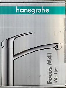Hansgrohe FOCUS 160 Spültischmischer E2 chrom, Küchenarmatur 31806000 Neu & OVP