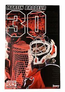2008/09 NJ Devils Martin Brodeur NHL Career Wins Record 552 Poster 13x20 NEW!