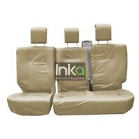 Discovery 3 Rear Inka Fully Tailored Waterproof Seat Covers Beige