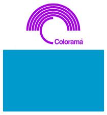 Colorama ELECTRIC BLUE PVC Colormatt 5047  100cm x 130cm