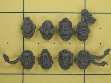 Warhammer 40K Space Marines Space Wolves Wolf Guard Terminator Heads