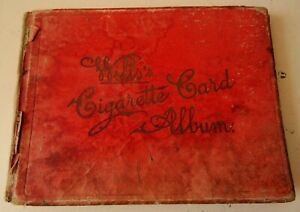Vintage Will's Cigarette Card Album Containing Approx 120 John Player Cards