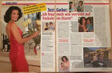 Clippings cuttings - TERRI GARBER - 2 pages german - S-25