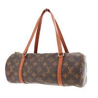 Louis Vuitton Papillon 30 Hand Bag Monogram Canvas M51385 Authentic #PP463 S