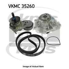 New Genuine SKF Water Pump And Poly V Ribbed Belt Kit VKMC 35260 Top Quality