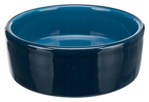 Trixie Quality Ceramic Dog Bowls -  Dark Blue -  Food / Water Bowl - 3 Sizes