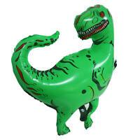 1-30pcs Green Dinosaur Giant Foil Balloon Birthday Party T-Rex Helium Balloons
