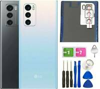 LG WING 5G F100 Glass Battery Back Cover + Lens Door Panel Replacement